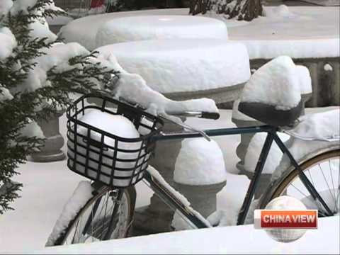 Heavy snowfall in Tibet Autonomous Region