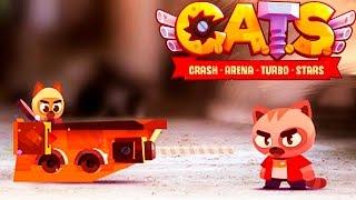 КОТИК и БОЕВЫЕ МАШИНЫ #2 ВИДЕО ДЛЯ ДЕТЕЙ про машинки cats crash arena turbo VIDEO FOR KIDS cars