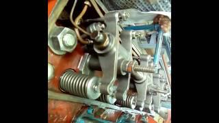 Réglage soupape du moteur buque 3cylindres