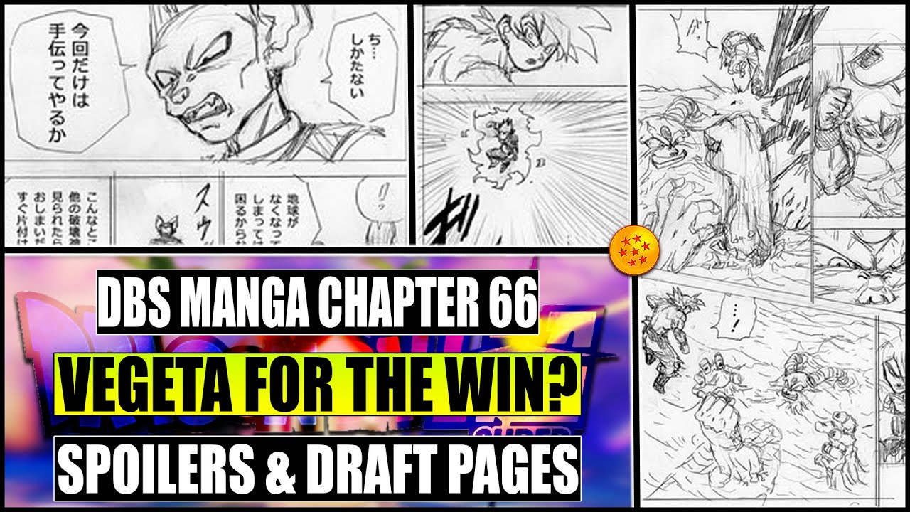Dragon Ball Super Manga Chapter 66 Spoilers Draft Pages Are Here Youtube