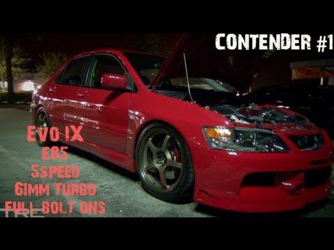 - AWD Battle Royale - Evo IX and STI take on GTR's