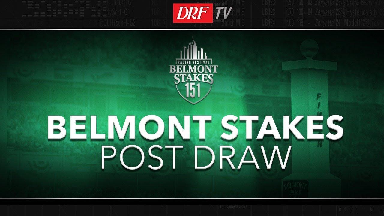 Belmont Stakes Post Draw Recap 2019