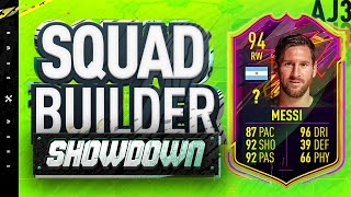 Fifa 20 Squad Builder Showdown!!! ONES TO WATCH LIONEL MESSI!!!