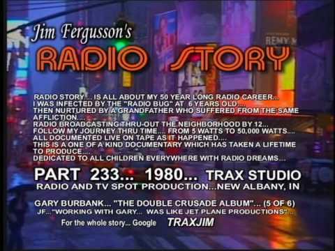 JIM FERGUSSON - GARY BURBANK!!! - 1979 WHAS CRUSADE FOR CHILDREN SHOW - FERGUSSON/TRAX - RS 885NEW