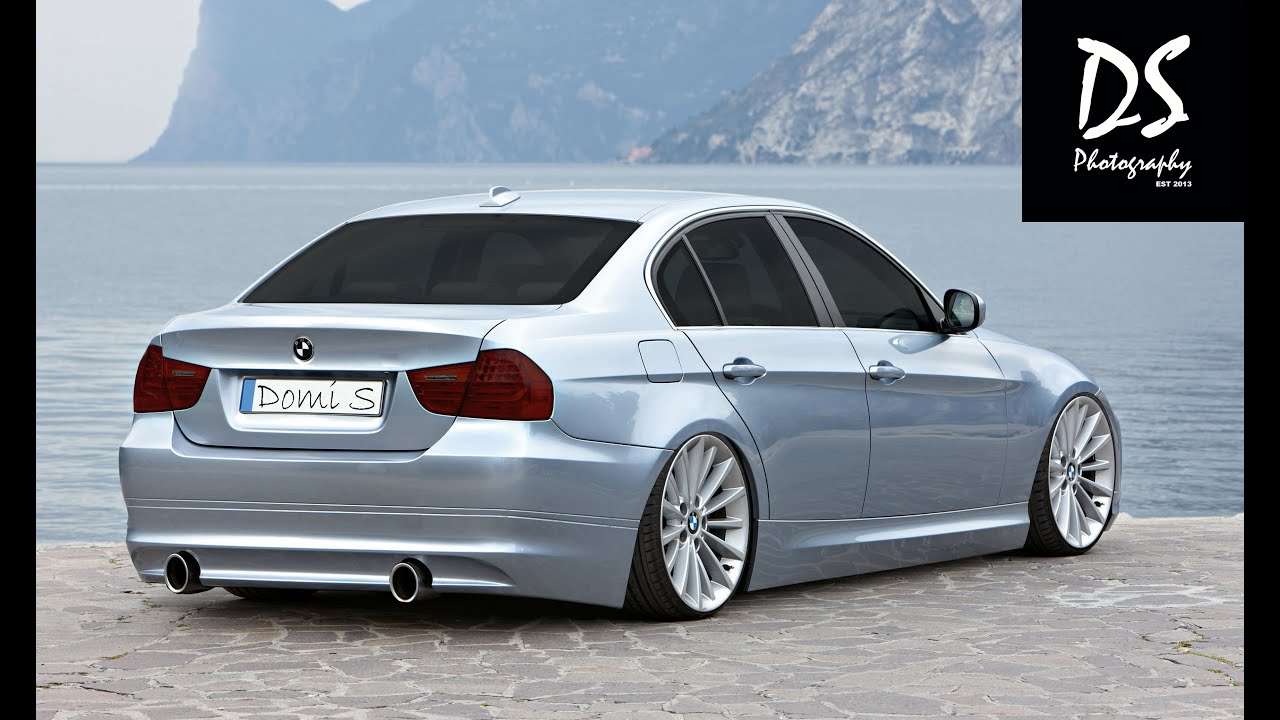 Bmw E90 Tuning : photoshop cc virtual car tuning bmw e90 youtube ~ Jslefanu.com Haus und Dekorationen