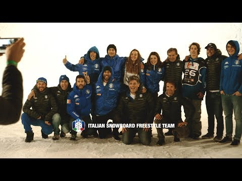 Italian Snowboard Freestyle Team @ BIG AIR Milano