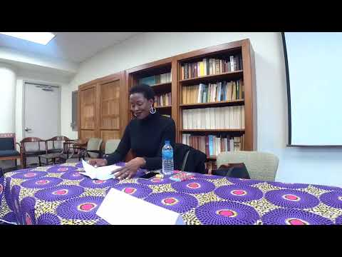 Scholar For A Day: Keynote Address - Africa & The Project of Black Studies Pt.1