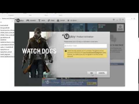 what is the serial key of watch dogs