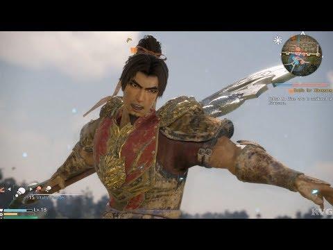 Dynasty Warriors 9 - Sun Ce - Open World Free Roam Gameplay (PS4 HD) [1080p60FPS]