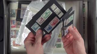 A gold mine for the entrepreneur! (Stamp collection in a safe deposit box!)
