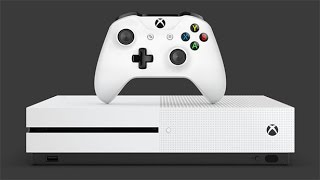 Xbox One S (Slim) First-Ever Unboxing  - Live at E3