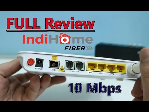 FULL Review Indihome 10 Mbps + TV Chanelnya