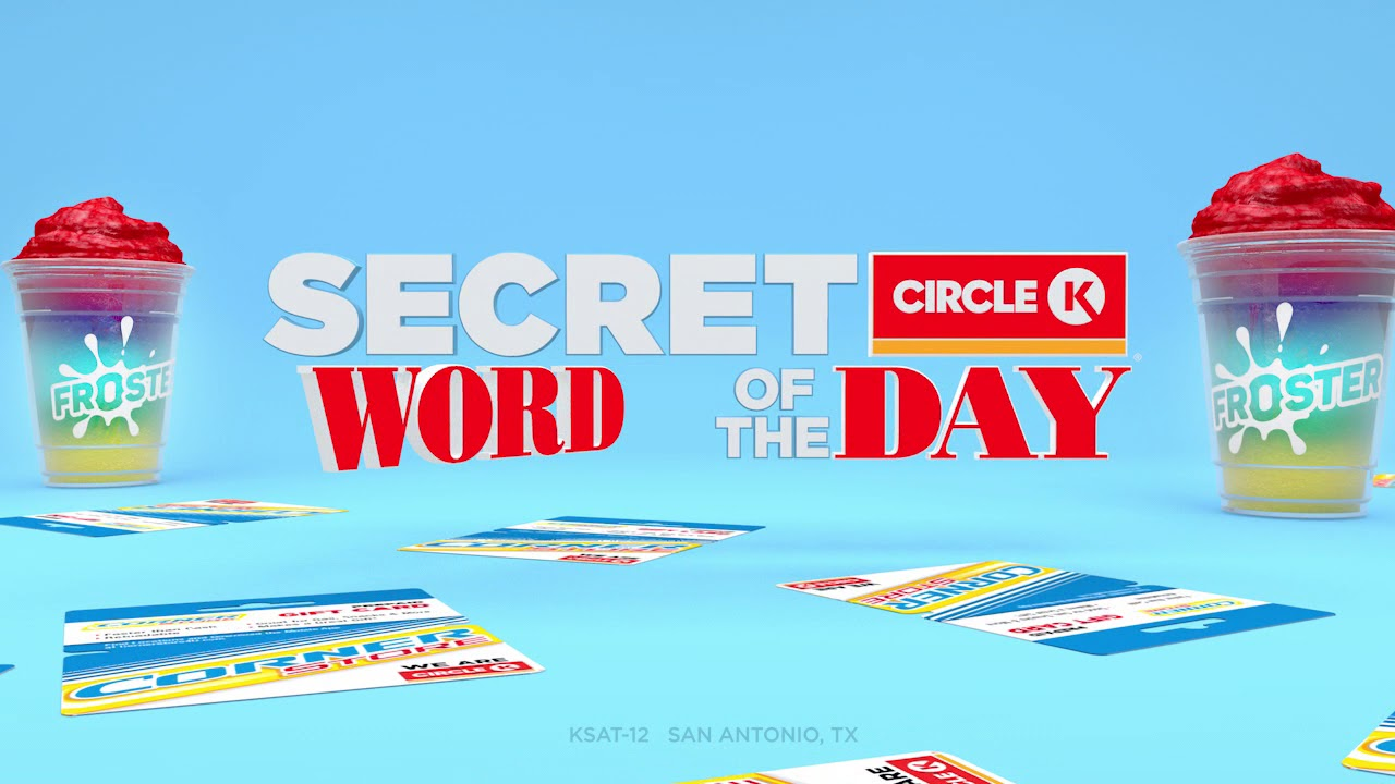 KSAT12 - Circle K Secret Word of the Day Promo