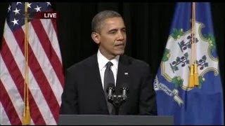 President Obama address in Newtown