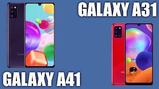 Смартфон Samsung Galaxy A41 vs Galaxy A31. Разница есть!