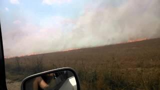 Potężny pożar rżysk i nieużytków RADOMYŚL-KRYNKA