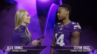 Exclusive Interview with Stefon Diggs