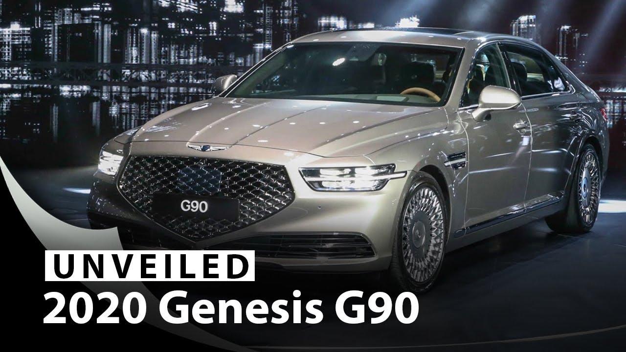 2020 Genesis G90 Flagship Sedan Unveiled: Styled for ...