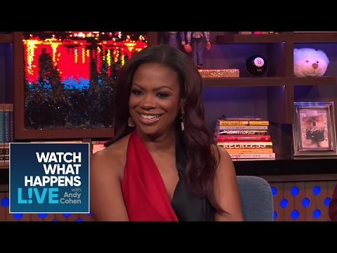 Kandi Burruss And Porsha William's Kiss | RHOA | WWHL