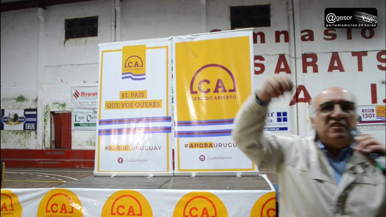 Guillermo Domenech Candidato A Vicepresidente Por Cabildo Abierto Youtube