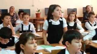 Открытый урок по русскому языку: