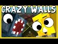 Minecraft - THIS GAME IS SO CRAZY! - Crazy Walls Mini Game! W/AshDubh