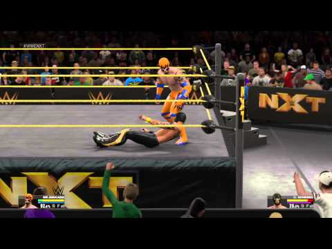 WWE 2K15-My Carrer - Bölüm 5- NXT  Sarmaz