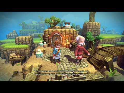 [Nintendo Switch] - Oceanhorn: Monster of Uncharted Seas Gameplay (Direct-Feed Switch Footage)