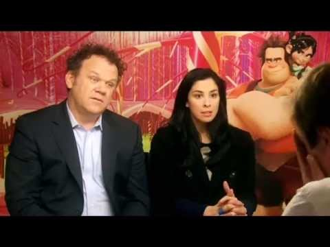 Tubes Interviews Sarah Silverman & John C Reilly - Soccer AM 2013