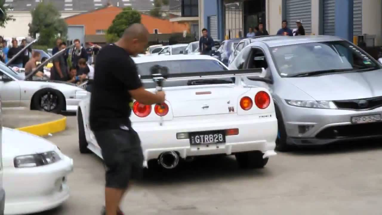 Nissan Skyline Gtr R34 From Hell. Petros Jdm GrTuning