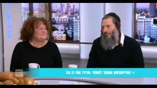 רן ובר ולאה שבת בערוץ 2 - סוד הנקודה הטובה אצל מנחם טוקר