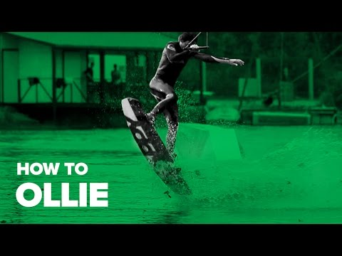 How to Ollie on Wakeboard
