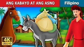 ANG KABAYO AT ANG ASNO   Kwentong Pambata   Filipino Fairy Tales