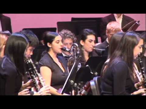 """The NYU Concert Band Plays John Williams' """"1941 March"""""""