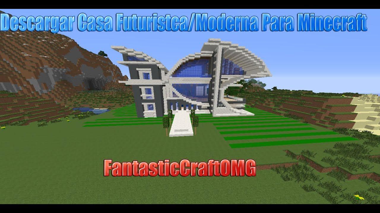 Descargar casa futuristica moderna para minecraft for Casa moderna minecraft 0 10 4