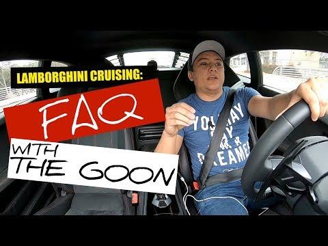 Lamborghini Cruising: ANSWERING FAQ