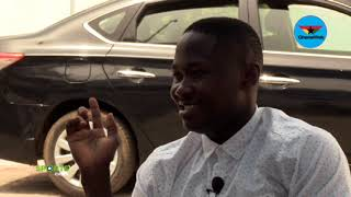 How Kotoko fans destroyed and replaced the tyres of Eric Bekoe car