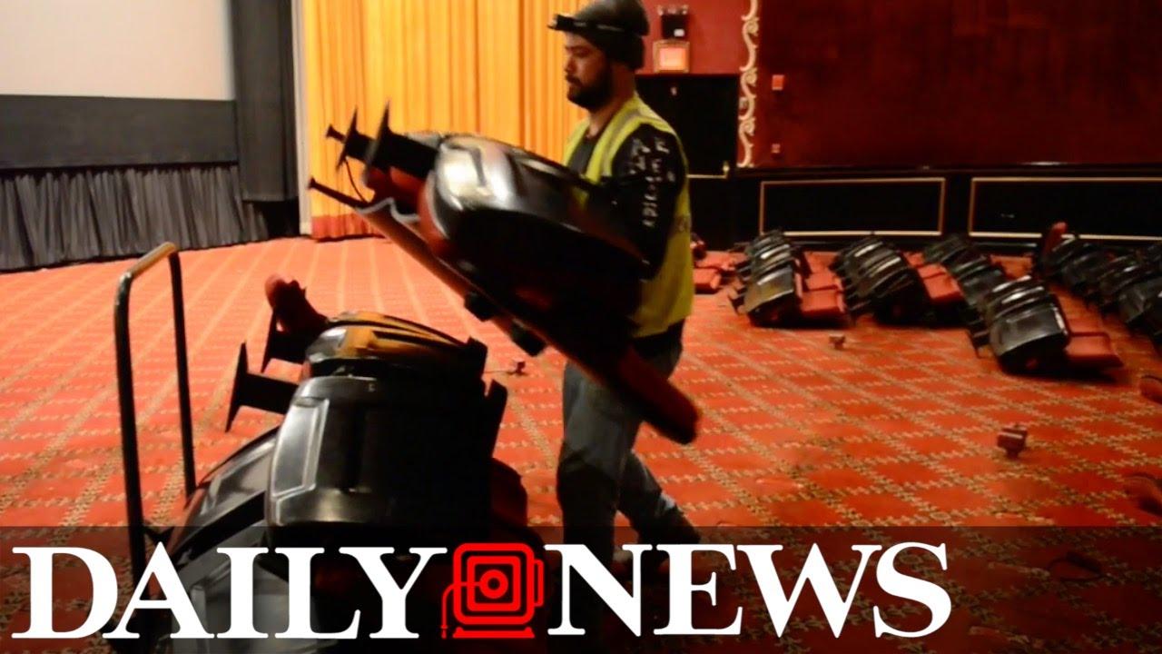 Historic Ziegfeld Theater Closes