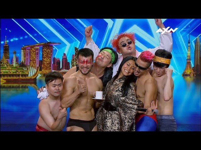 FUNNIEST MOMENTS From Asia's Got Talent! | Asia's Got Talent 2019 on AXN Asia