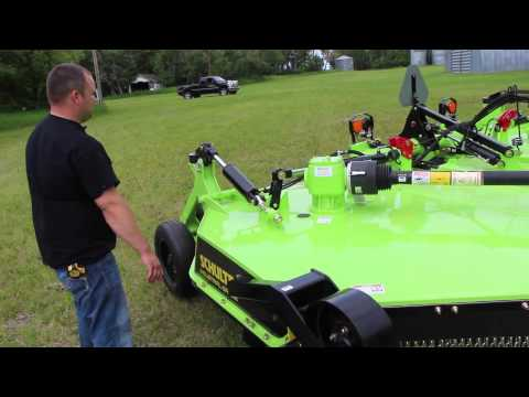 Schulte XH-1500 Series 4 Rotary Cutter Features And Benefits