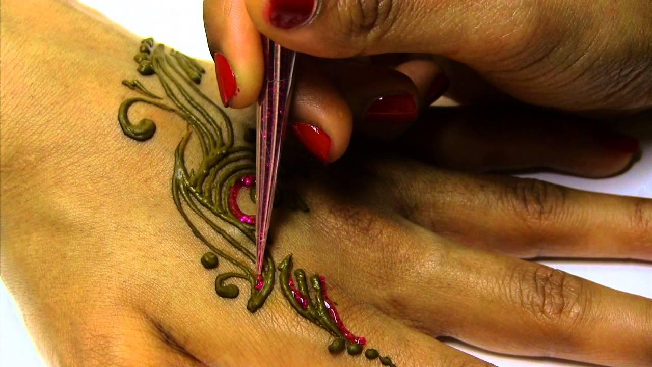 Mehndi Henna Kit Review : Pavans henna mehndi kit instructions youtube