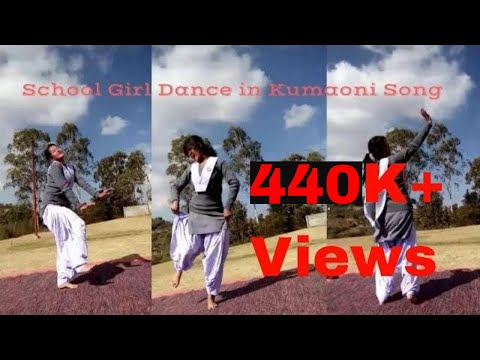School Girl Dance in Kumaoni Song 2018