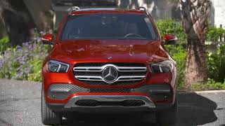 Mercedes Benz Gle 450 4matic Interior Design In Hyacinth Red