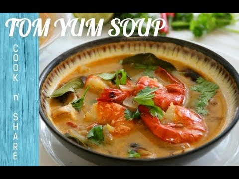 Easy Tom Yum Soup in 30 Minutes - YouTube