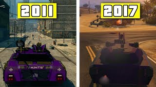GTA Updates and Saints Row Comparison - GTA is Officially Saints Row 5