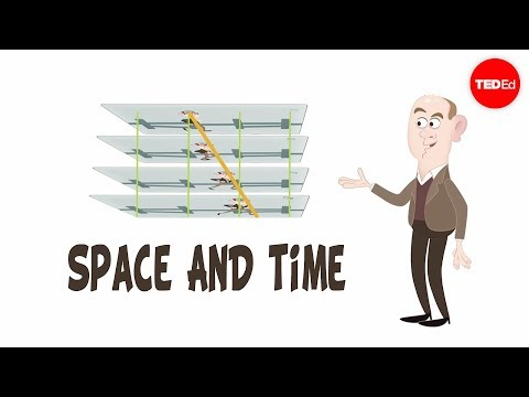 Video image: The fundamentals of space-time: Part 1 - Andrew Pontzen and Tom Whyntie