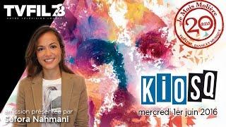 """KioSQ – Emission spéciale """"Versailles: le Mois Molière fête ses 20 ans"""""""