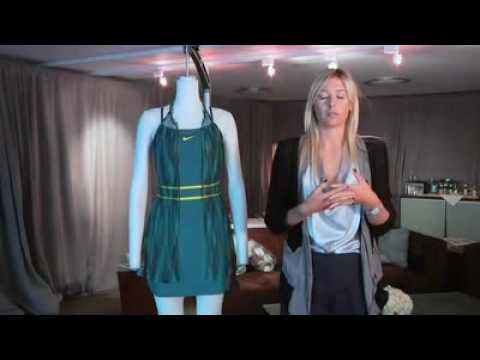 Maria Sharapova Collection -  Australian Open Dress - Nike Tennis