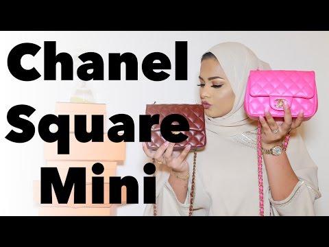 Chanel Square Mini Review | مراجعة شنطة شانيل سكوير ميني