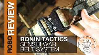 Robo-Airsoft: Robo Gear Review - Ronin Tactics Senshi Belt